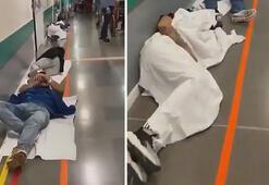 Son dakika: Dünya sarsıldı İspanyadaki hastaneler dolup taştı...