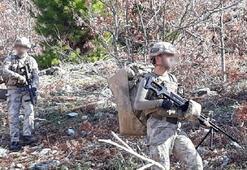 Amanoslarda PKKlıların kullandığı 3 sığınak ele geçirildi
