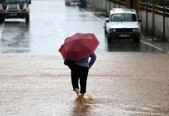 Meteoroloji 6 ili uyardı Sağanak yağış bekleniyor