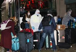 Eğitim için İskoçyada olan öğrencilerden 137si Sivasa geldi
