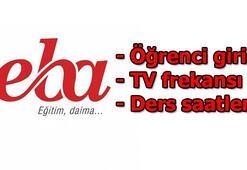 EBA TV - TRT canlı yayını EBAda dersler başladı