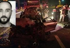 TIR'a arkadan çarpan sürücü hayatını kaybetti