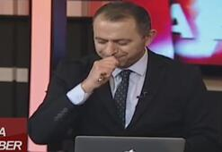 KKTCde ana haber spikerinin ağzına sinek kaçtı