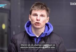 Andrei Arshavin'den virüsten korunma uyarısı