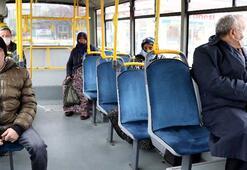Yolcu otobüsleri yüzde 50si kadar yolcu kabul ediyor