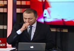 KKTC'de ana haber spikerinin ağzına sinek kaçtı