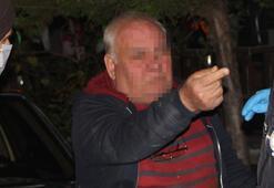 67 yaşındaki alkollü adam polise zorluk çıkarttı