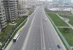 İstanbulda corona virüs tedbirleri Trafik yoğunluğu yüzde 13e kadar düştü