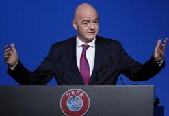FIFA Başkanı Infantinodan koronavirüse karşı dayanışma çağrısı
