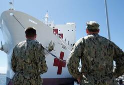 Trump, USNS Mercy yüzen hastane gemisini Californiaya gönderdi