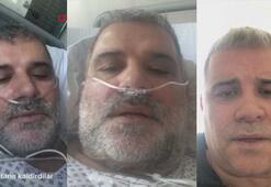 Almanyada corona virüsüne yakalanan Türk vatandaşı yaşadıklarını görüntüledi