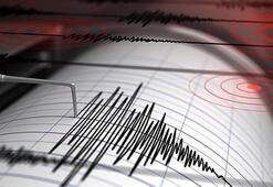 Son dakika... Manisa da korkutan deprem Depremin büyüklüğü...
