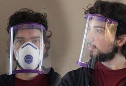 Corona için 3D yazıcıyla siper Sağlık çalışanlarına ücretsiz
