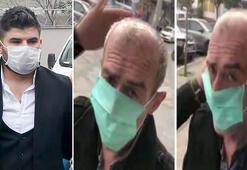 Zorla maske takan ve kolonya döken kişi kendisini böyle savundu 8 dil bilen insan...