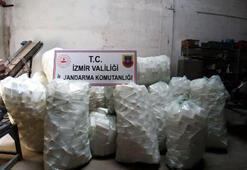 İzmirde, 2 bin 500 litre sahte dezenfektan ele geçirildi