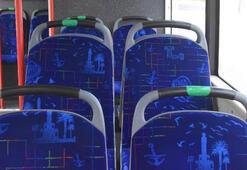 İzmir toplu taşımada yeşil koltuk uygulamasına geçti