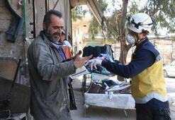 İdlib ve Afrin'de corona virüse karşı broşür dağıttılar