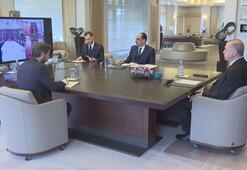 Cumhurbaşkanı Erdoğan, Corona Virüs Bilim Kurulu Toplantısına katıldı