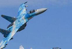 Son dakika haberi... Rus Su-27 savaş uçağı Karadenizde düştü