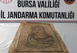 Bursada milyonluk tarihi eser operasyonu