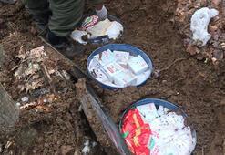 Bitliste PKKya ait yaşam malzemeleri ele geçirildi