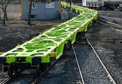Sivasta üretilen yük vagonları Avusturya yolunda