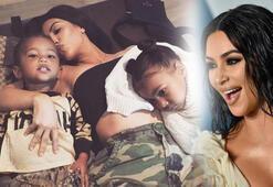 Kim Kardashianın ailesiyle karantina pozu