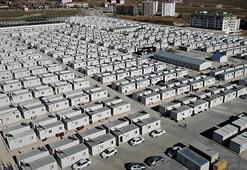 Elazığ'da 4 bin 613 kişi konteyner evlerde yaşamaya başladı