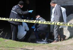 Oyun onayan çocuklar ceset buldu
