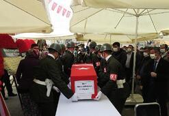 Şehit cenazesinde dikkat çeken Corona virüs tedbirleri