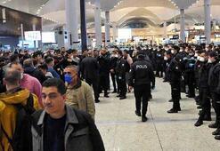 Yer: İstanbul Havalimanı 1500 kişi polis eşliğinde Karabüke gönderildi
