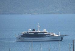 Milyon dolarlık yatı Yunanistan kabul etmedi, Bodrum açıklarına demirledi