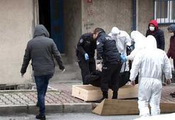 İstanbulda evinde ölü bulundu Corona önlemi...