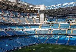 Real Madrid, stadını salgına karşı hizmete verdi