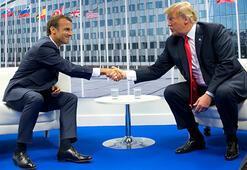 Trump ve Macron telefonda Kovid-19u görüştü