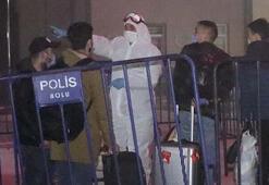 Polis kontrolünde İstanbuldan Boluya götürüldüler Corona karantinası...
