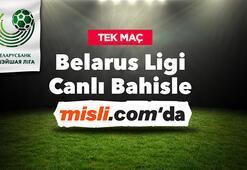Belarus Ligi hem Tek Maçlarla hem de Canlı Bahisle Misli.comda