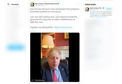 Son dakika Boris Johnson corona virüse yakalandı.