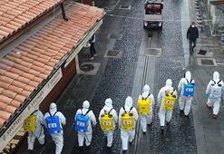 Konyada dezenfeksiyon seferberliği 50 ekip 110 personel