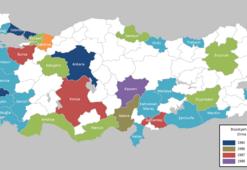 Türkiyenin 30 büyükşehri hangileri... 30 büyük şehir neler