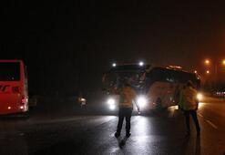 KKTCden getirilen 450 kişi Niğdede yurda yerleştirildi