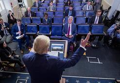 Trump: Önümüzdeki 100 günde 100 bin ek ventilatörü üreteceğiz ya da edineceğiz