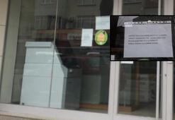 Son dakika... Corona virüs şüphesiyle banka şubesi kapatıldı