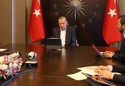 Son dakika Cumhurbaşkanı Erdoğan, Hakan Fidan ile görüştü