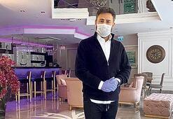 İzzet Yıldızhan otelini dezenfekte ettirdi