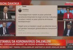 İstanbulda corona virüs tedbirleri