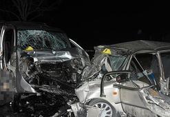 Konyada çok feci kaza: 4 ölü, 4 yaralı