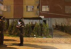 Corona virüs salgınına aldırmayan kişiler kaçak kıraathanede basıldı
