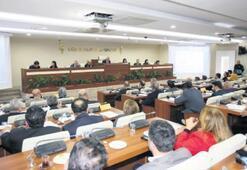 Belediye meclisinde toplantılara ara