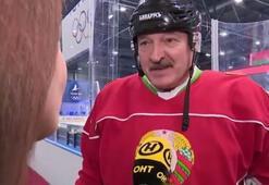 Belarus Devlet Başkanı Lukaşenko, coronaya rağmen hokey maçına çıktı